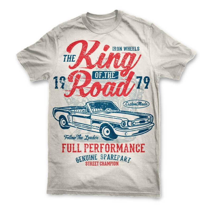 King Of The Road t shirt design buy t shirt design