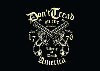 Liberty Of Death t shirt design
