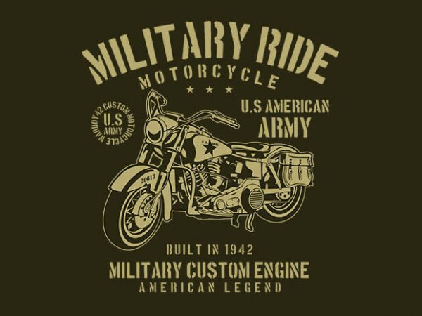 Military Ride 600x450 - Military Ride t shirt design buy t shirt design