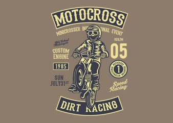 Moto Cross t shirt design buy t shirt design