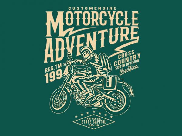 Motorcycle Adventure 600x450 - Motorcycle Adventure t shirt design buy t shirt design