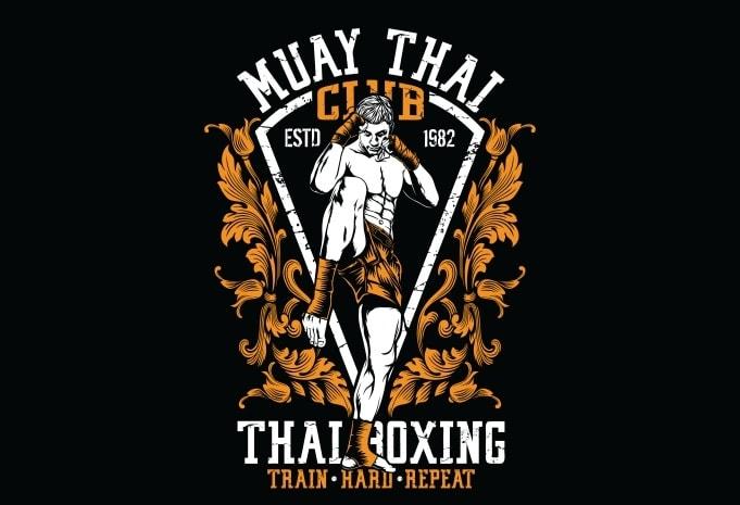 Muay Thai Club - Muay Thai Club buy t shirt design