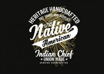 Native American 2 t shirt design buy t shirt design