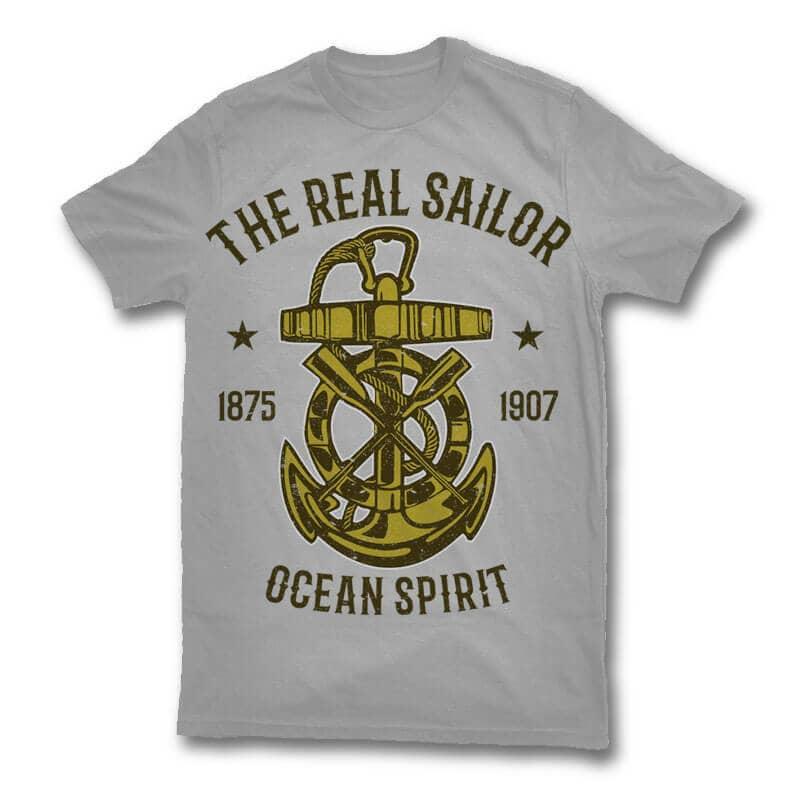 Ocean Spirit t shirt design buy t shirt design