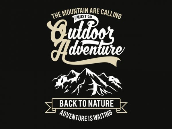 Outdoor Adventure 1 t shirt design buy t shirt design