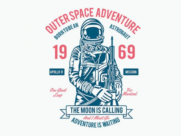 Outerspace Adventure 69 t shirt design buy t shirt design