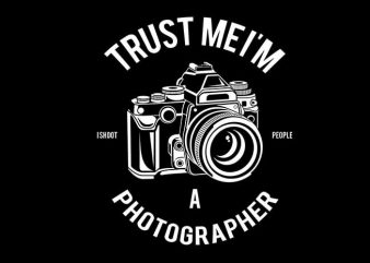 Photographer tshirt design buy t shirt design