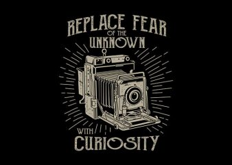 Replace Fear tshirt design