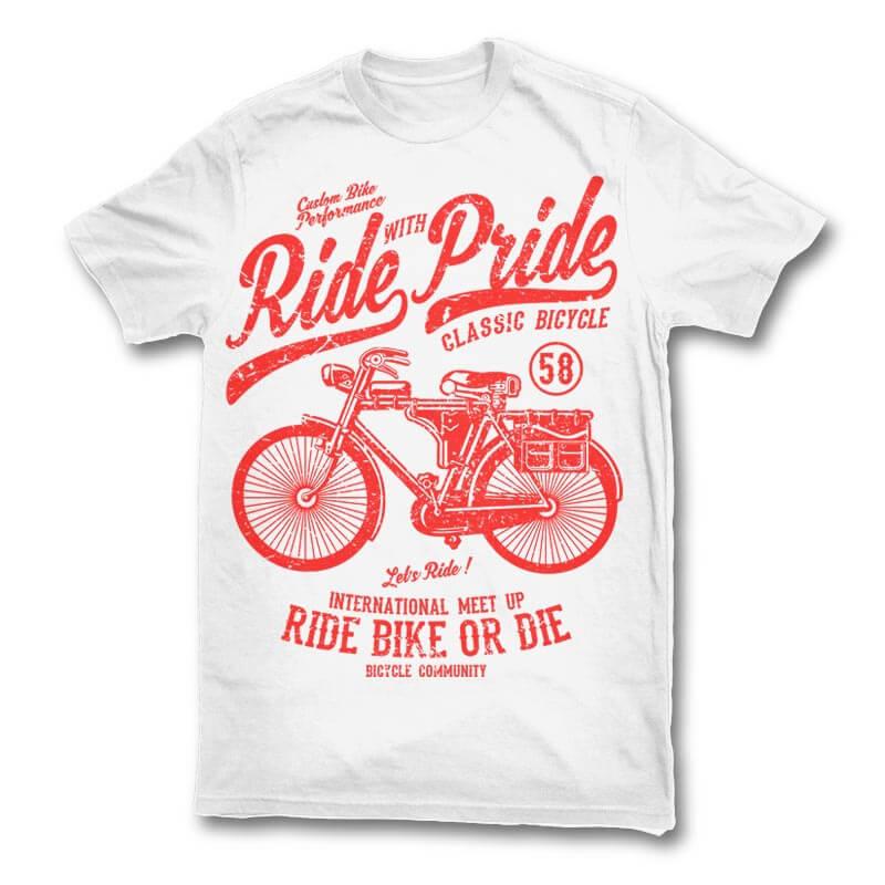 Ride With Pride tshirt design buy t shirt design