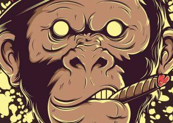 Mafia Monkey buy t shirt design