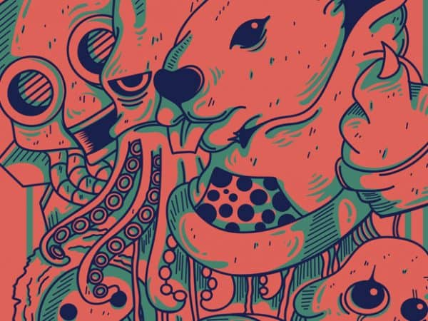 1 2 600x450 - The Doodles buy t shirt design