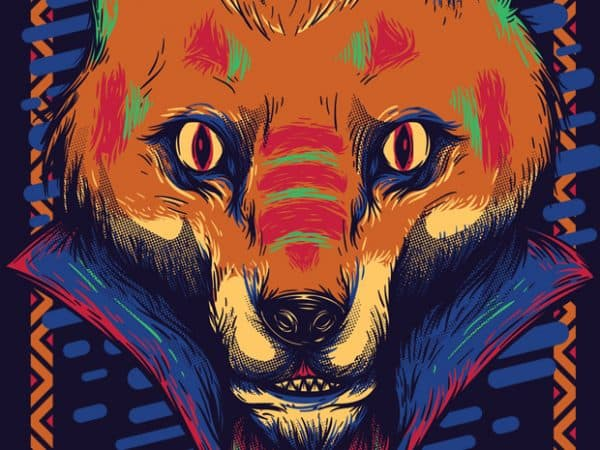 1 6 600x450 - Voodoo Fox buy t shirt design