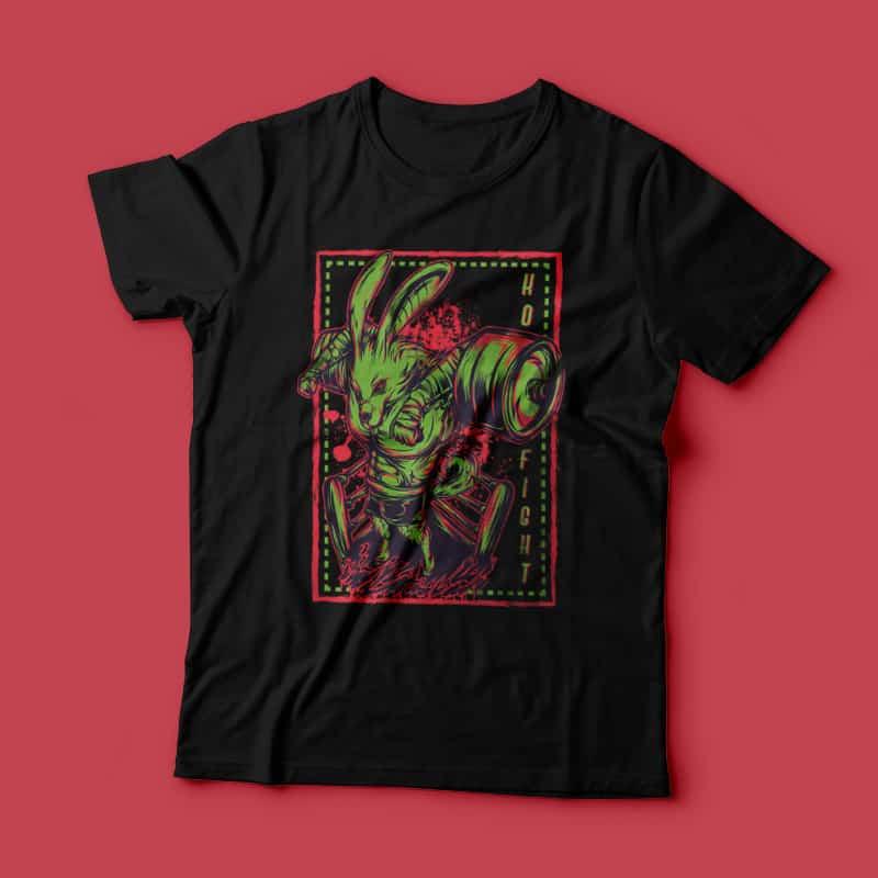 K.O Fight buy t shirt design