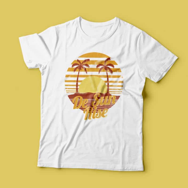 The Sun Rise buy t shirt design