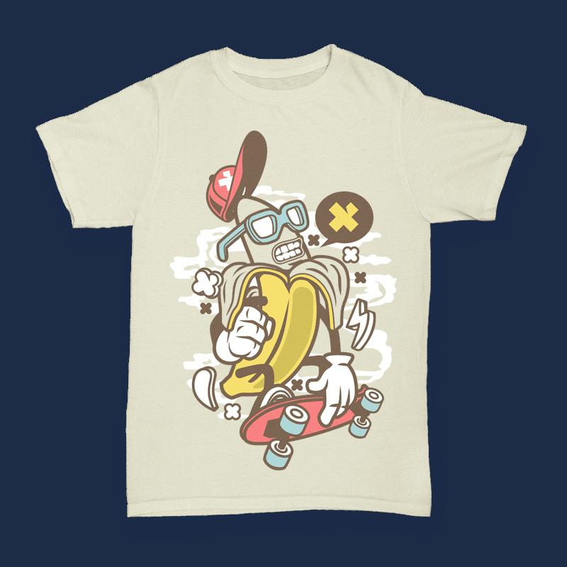 Banana buy t shirt design