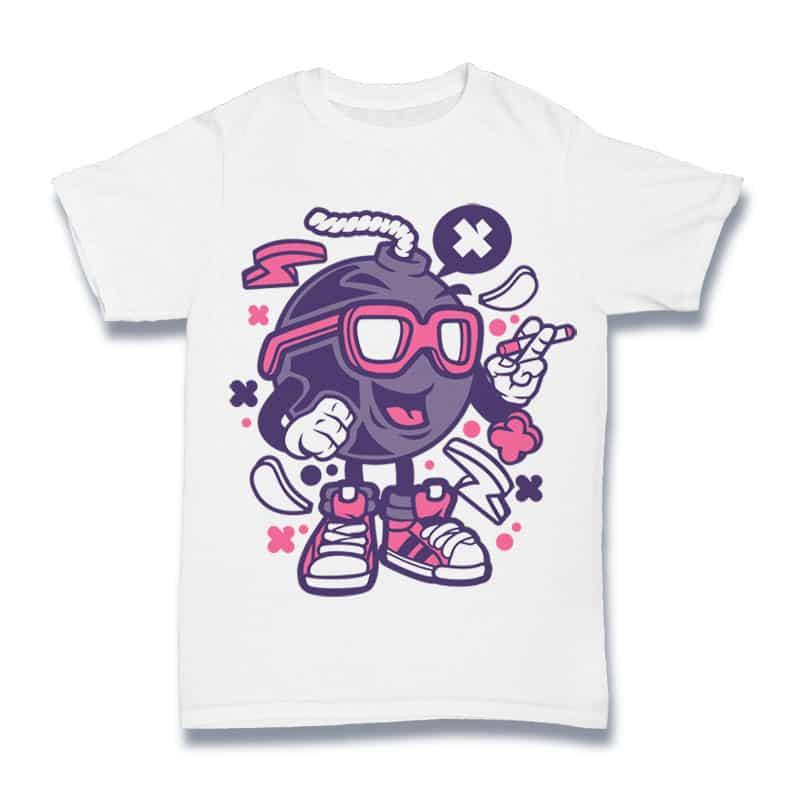 Bomb buy t shirt design