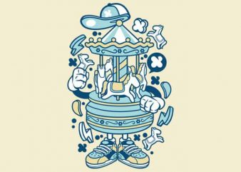 Carousel buy t shirt design