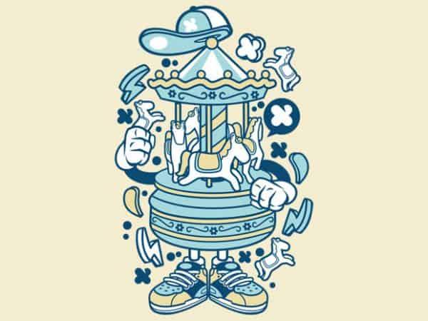 Carousel BTD  600x450 - Carousel buy t shirt design