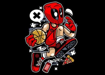 Deadpool Basketball buy t shirt design