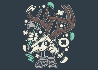 Deer Skull buy t shirt design