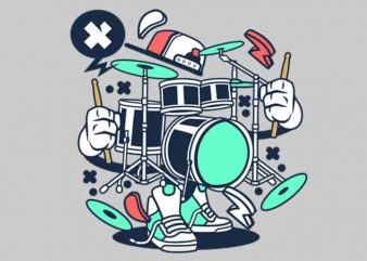 Drum Set buy t shirt design