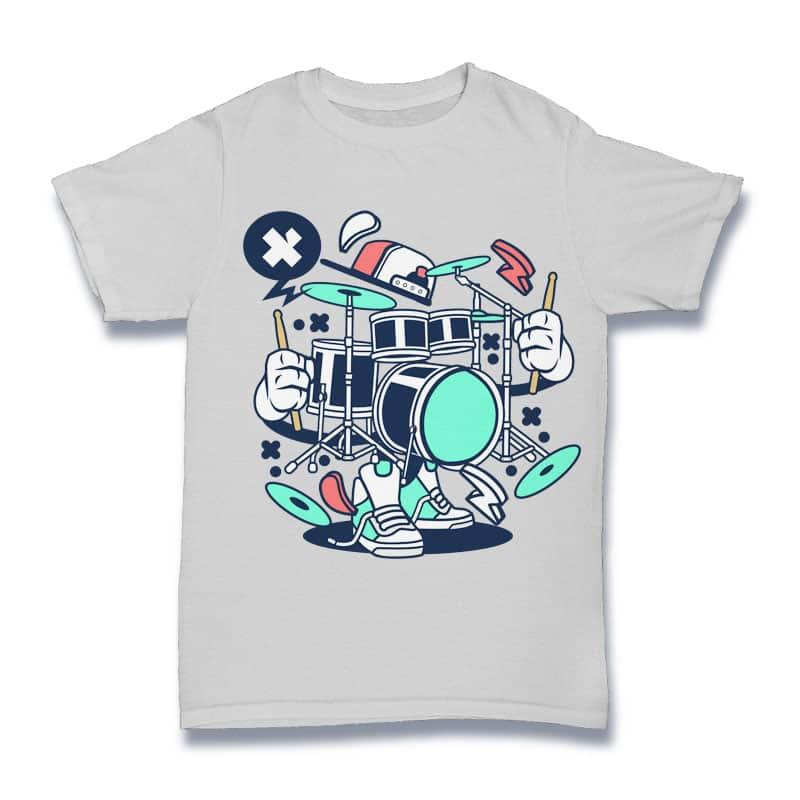 Drum Set buy t shirt design