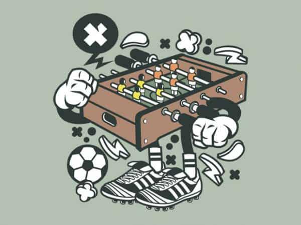 Football Table buy t shirt design