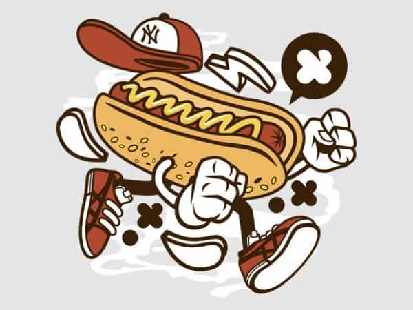 Hot Dog BTD  600x450 - Hot Dog buy t shirt design