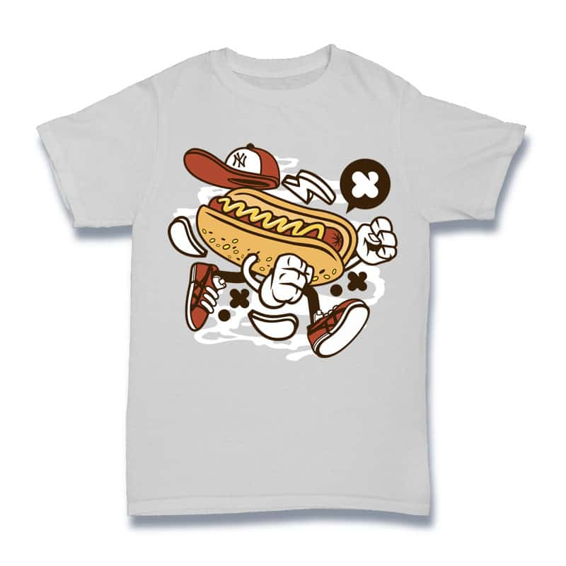 Hot Dog buy t shirt design