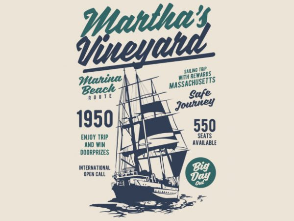 Martha_s Vineyard t shirt design buy t shirt design
