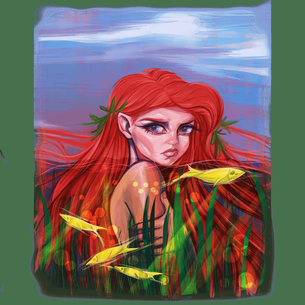Mermaid buy t shirt design