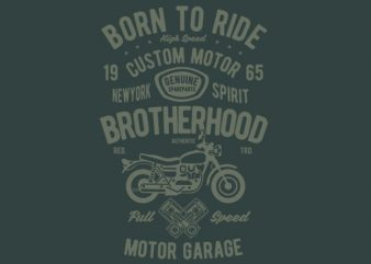 Motorcycle Brotherhood tshirt design buy t shirt design