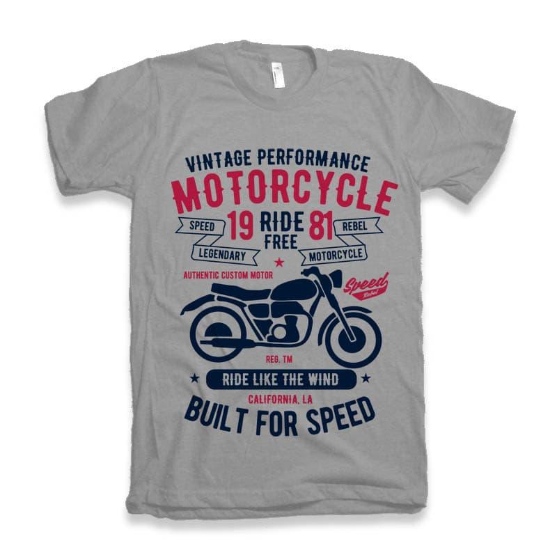 Motorcycle Ride Free t shirt design buy t shirt design