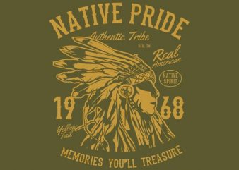 Native Pride Tshirt design buy t shirt design