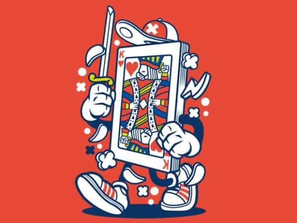 Playing Card t shirt illustration