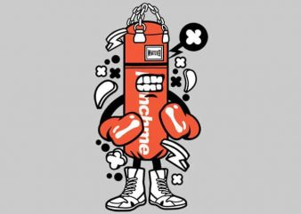 Punch Bag Boxer buy t shirt design