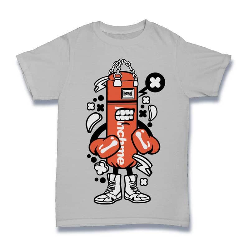 Punch Bag Boxer buy t shirt design