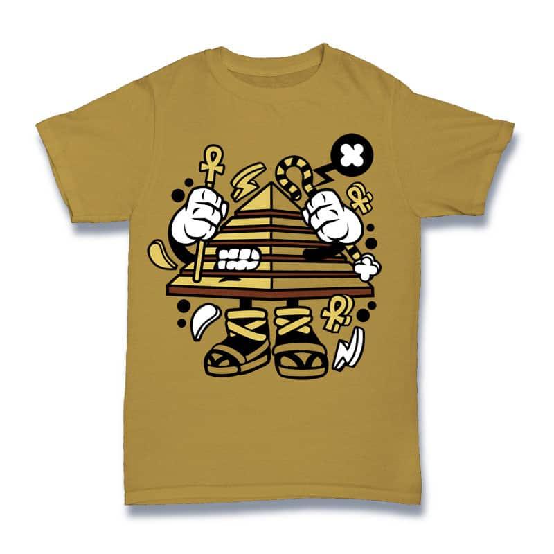 Pyramid buy t shirt design