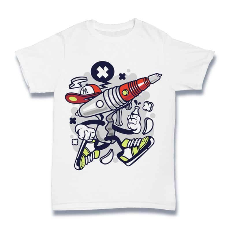 Ray Gun buy t shirt design