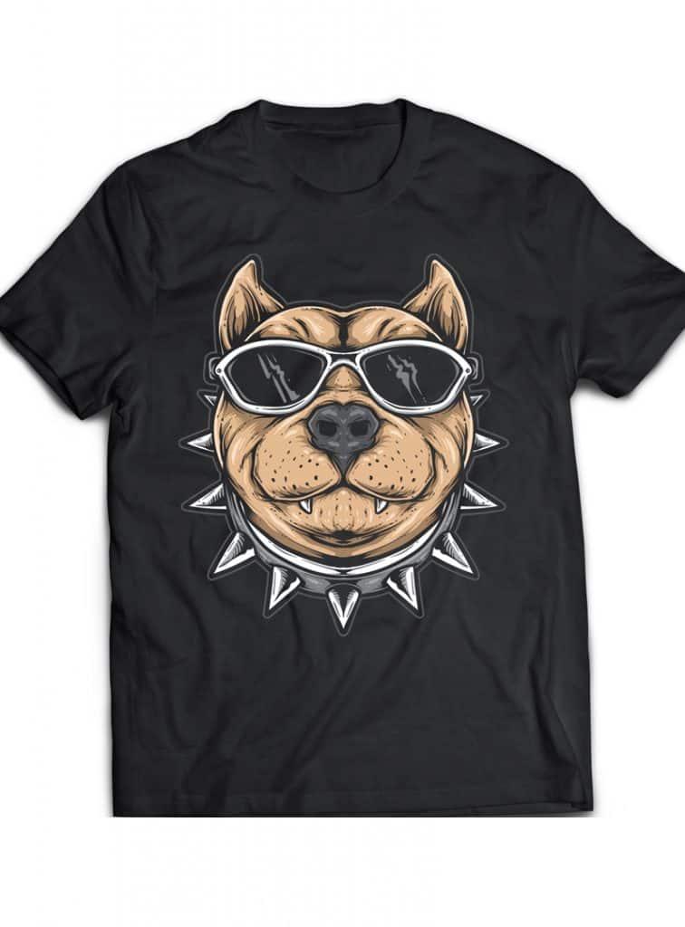 Funky Dog buy t shirt design