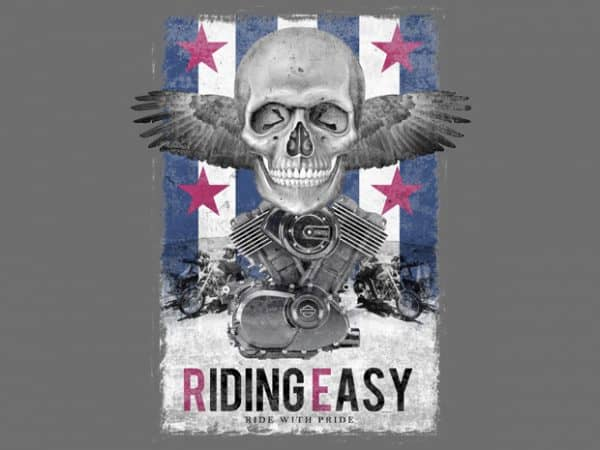 rid 600x450 - Riding Easy buy t shirt design