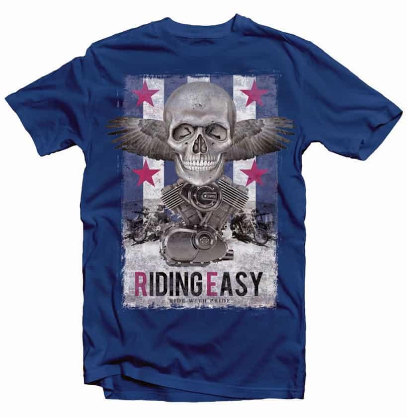 Riding Easy buy t shirt design