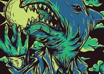 Shark City buy t shirt design