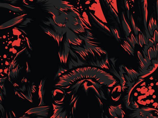 1 4 600x450 - Black Crow buy t shirt design