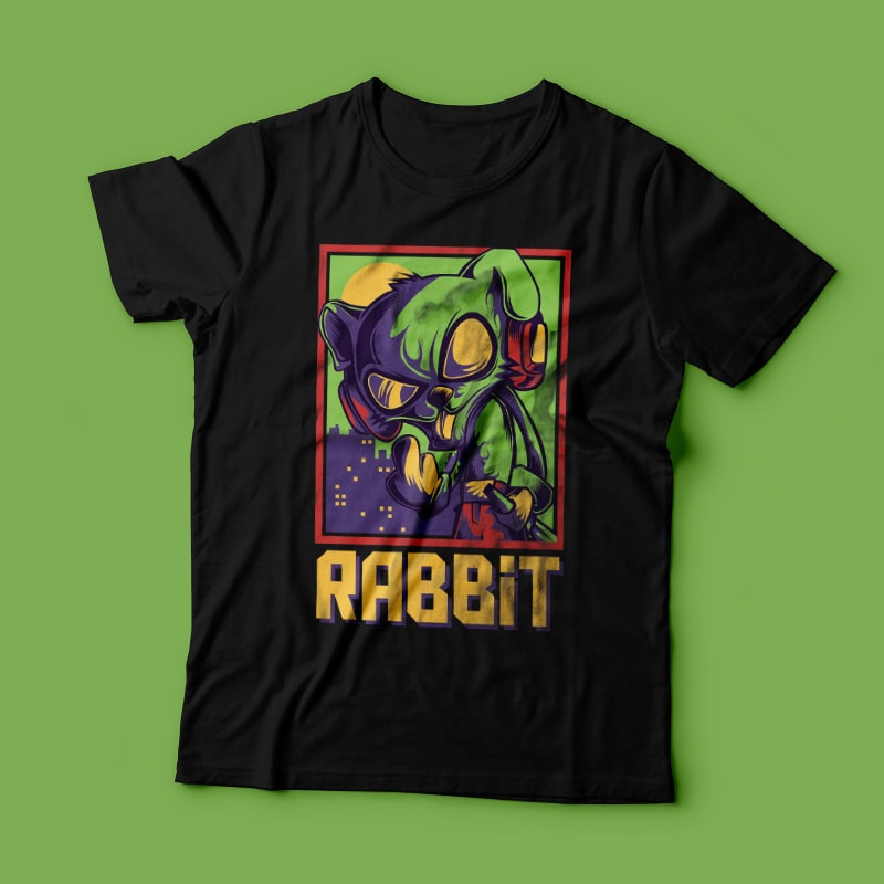 Cool Rabbit buy t shirt design