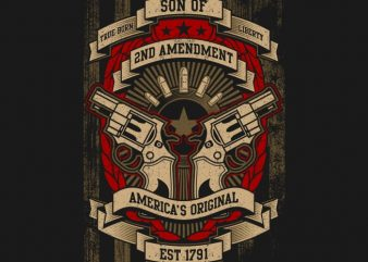 2nd Amendment buy t shirt design
