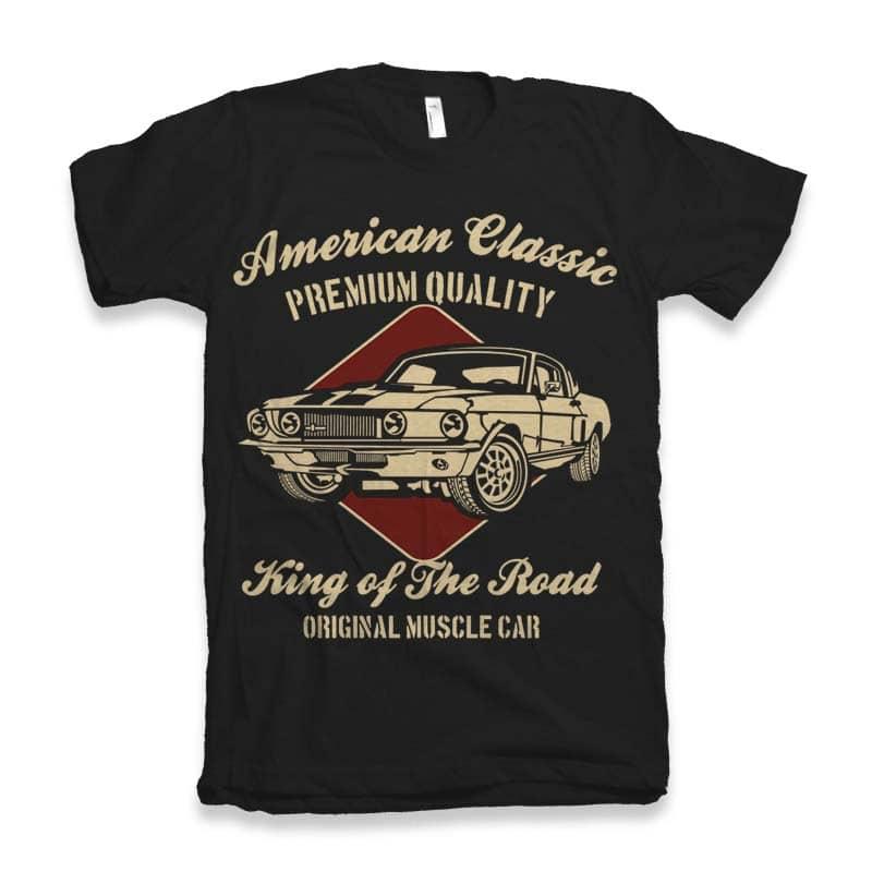 American Classic buy t shirt design