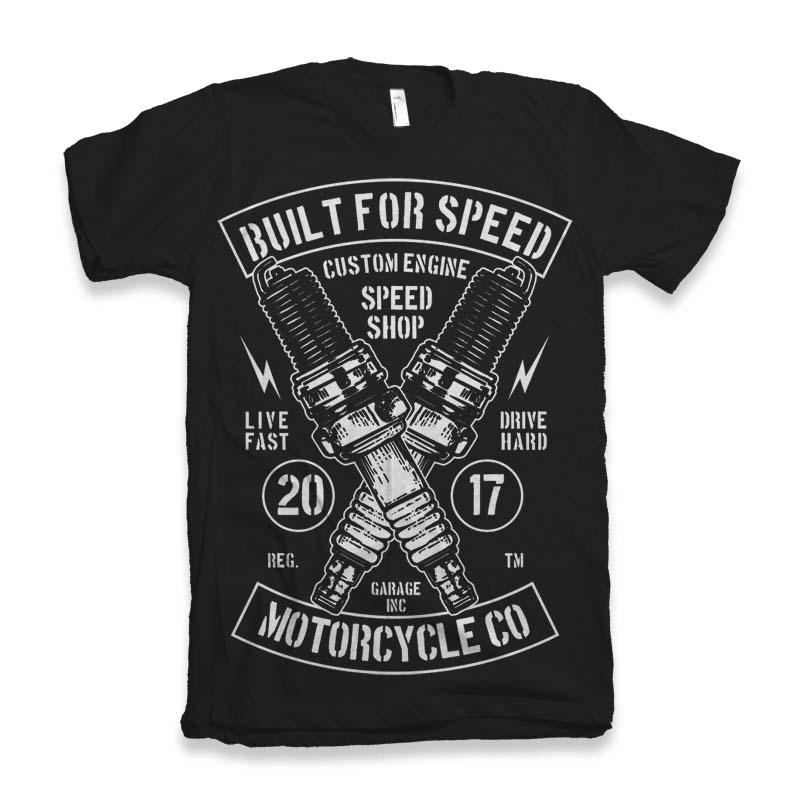 Built For Speed t-shirt design buy t shirt design