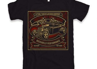 Custom Hot Rod Classic t-shirt design buy t shirt design