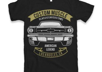 Custom Muscle t-shirt design buy t shirt design